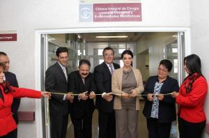 Apertura de la Clínica en Octubre del 2012